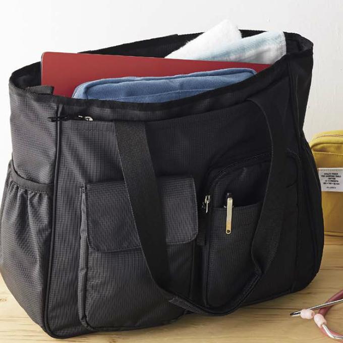9e2b098f18cc 白衣ネット 本店【AKB1000-01 モンブラン バッグ 2WAY ブラック(医療用 ...
